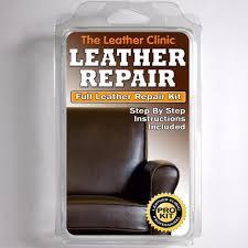 dark brown leather sofa chair repair kit for tears holes scuffs 5055438407216