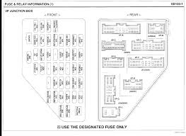 why won't my back up lights on my 2007 kia sportage come on? 2000 kia sportage fuse box diagram full size image