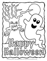 Coloring pages are fun for children of all ages and are a great educational tool that helps children develop fine motor skills, creativity and color recognition! Halloween Coloring Pages Easy Peasy And Fun