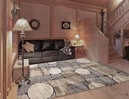 natco home reg rainier cedar falls grey beige area rug 7 10 x