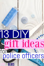 these are great diy gift ideas for police officers seriously i love