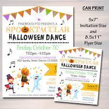 Halloween Dance Flyer Templates Halloween Dance Ticket Template 7 Free Themed Templates For