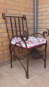 rot iron furniture. кованое кресло Rot Iron Furniture