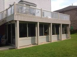 diy screened in porch under deck ideas