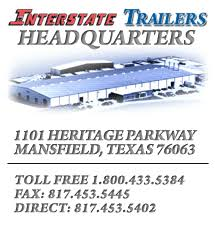 parts interstate trailers 1101 heritage parkway mansfield texas 76063 toll 1 800 433 5384 fax 817 453 5445 direct 817 453 5402