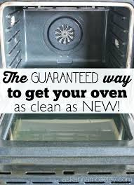 cleaning oven glass the guaranteed way to make your oven clean as new ask clean oven cleaning oven glass