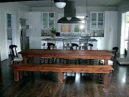 bench style kitchen tables picnic style kitchen table images table decoration ideas gorgeous bench style kitchen