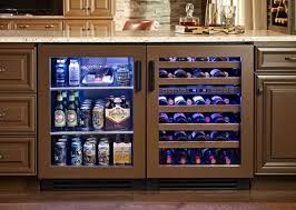 on the plus side as well coolers like this have heated glass doors to stop condensation are lockable have low noise level 45dba auto defrost