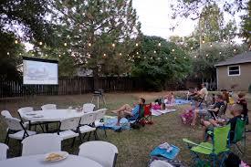 An Easy Backyard Movie Night U2014 SANCTUARY HOMEMovie Backyard