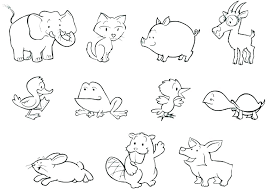 Coloring Pages For Adults Printable Kids Animals Online Of Zoo Ani