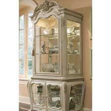 Michael Amini Lavelle Lighted China Cabinet & Reviews | Wayfair