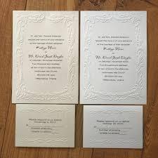 Print Your Own Invites Embossed Splendor Blank Invitation Kit Diy Invitation Set Of 50 Print Your Own Invitations Bv1005