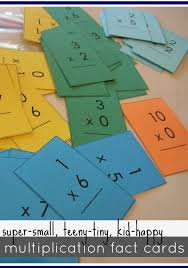 mastering multiplication tables (with mini flash cards) - teach mama