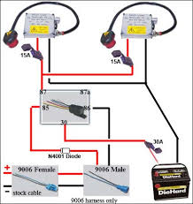 hid ballast wiring diagram hid wiring diagrams 9006 hid harness cable jpg