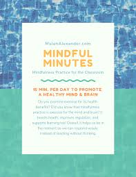 Mindful Minutes Msjenalexander Com
