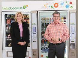 Hello Goodness Vending Machine Custom PepsiCo's Hello Goodness Vending Initiative Delivers 'Healthy