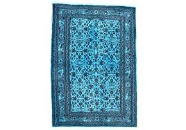 area rug x feet overdyed rugs 2 9 4 cm area rugs rug teal home depot overdyed