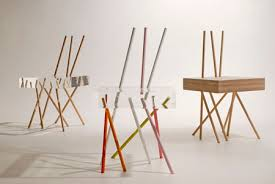Game With Wooden Sticks Stick Chair by Emmanuelle Moureaux Dezeen 85