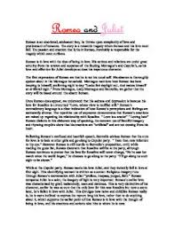 in conclusion romeo s character has distorted right through the  page 1 zoom in