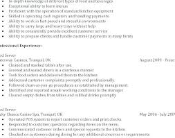 Bartender Resume Sample Magnificent Example Bartender Resume Good Resume Format Example