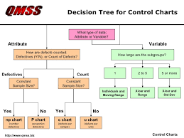 Control Chart Selection Decision Tree Qmss Control Charts Sample Slides