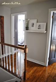 Our Home by Dear Lillie -- Hallway: Wall Color - Moonshine in Matte ...