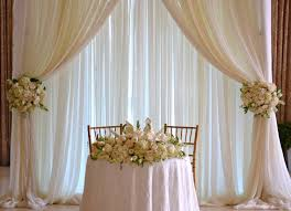 Curtains Wedding Decoration 17 Best Ideas About Sweetheart Table Backdrop 2017 On Pinterest