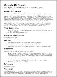 Warehouse Resume Templates Awesome Machine Operator Resume Templates Examples Of Resumes Sewing Sample