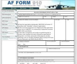af form 910 afform910 com af form 910