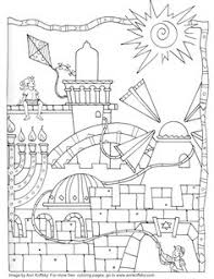 Small Picture 8 of the best most artful Hanukkah coloring pages Menorah