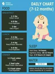 How Many Ml Should A Newborn Drink Chart How Much Water Can A 7 Month Old Baby Drink Quora