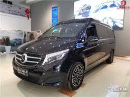 O mpv de grande porte baseado no vito. New Mercedes Benz V260l Modified High Top Half Sea Space New Luxury Head And Other Cabin Caacar