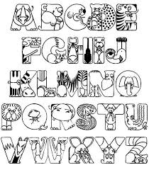 Small Picture Alphabet Coloring Pages Pdf glumme