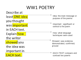 breaking down the questions of essay writing ppt  5 ww1