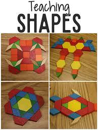 Shapes Chart For Nursery Teaching Shapes In Pre K Prekinders