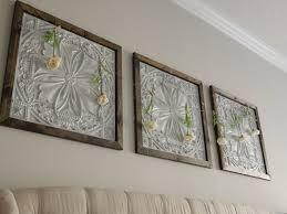 faux tin panel wall art diy jones sweet homes blog on 3 panel wall art diy with faux tin panel wall art diy jones sweet homes