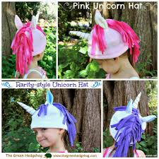 Pony Costume Ideas Sew Can Do My Little Pony Unicorn Hats A Return To Hat Making
