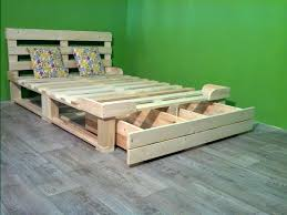 9 easy wooden pallets bed frame ideas for home wood pallet singapore wood pallet bed wooden