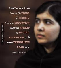 Activism Quotes Delectable 48 Most Inspiring Quotes From Education Activist Malala Yousafzai