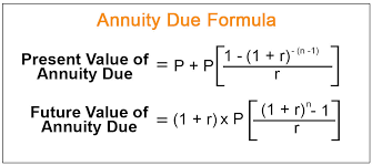 Annuity Due Formula How To Calculate Future Present