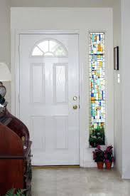 super duper stained glass door front doors front door home door ideas stained glass front door