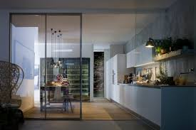 out of sight kitchen sliding doors kitchen contemporary open plan kitchen dining design ideas