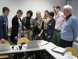 Marion Genth (Organisationsentwicklung), Andrea Schumann (Versicherungs-Agentur), Eva Ihnenfelt, Simone Schafflick (Ganzheitskosmetik), Jörg Heeger ... - XING-Workshop-28.1