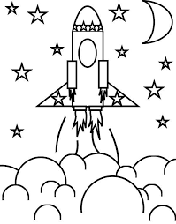 Small Picture rocket ship and the stars coloring space Download Print Online