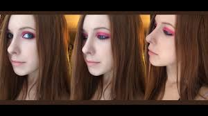 avril lavigne tutorial makeup pink eyes ставим качество 1080 you