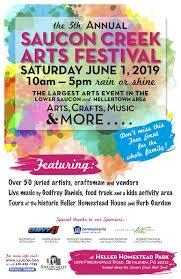 Art Event Flyer Saucon Creek Arts Festival Saucon Valley Conservancy