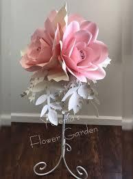 Wedding Paper Flower Centerpieces Paper Flower Centerpiece Birthday Fiori Di Carta Carta Fiori