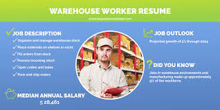 Warehouse Worker Resume Samples | Iresume Cover Letter