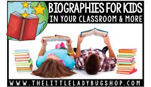 Books Research And Writing Biographies In Upper Elementary The