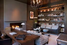 home office decor contemporer. fine contemporer rustic office decor home contemporary with patterned armchair dark  grey sofa san diego inside home office decor contemporer